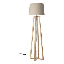 Ashwood & Oatmeal Dane Floor Lamp