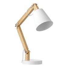 White Tully Desk Lamp
