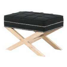 Black & Oak Vanessa Footstool