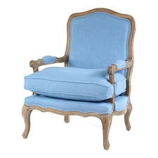 Duck Egg Blue Adele French Provincial Occasional Chair