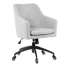 Taupe Davis Upholstered Desk Chair