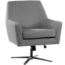 Jamie Modern Swivel Armchair