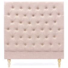 Dusty Pink Harper Chesterfield Bedhead