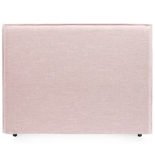 Dusty Pink Diablo Queen Bedhead with Slipcover