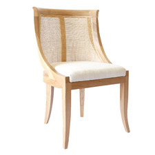Natural Madrid Side Chair