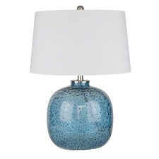 Blue Winters Glass Table Lamp