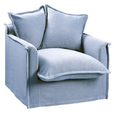 Cumulus Cotton Slipcover Armchair