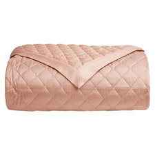 Hampton Quilted Cotton Sateen Throw