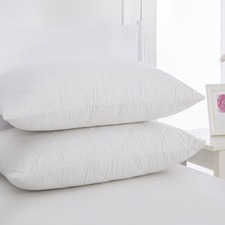 Cotton Cover Pillow Protector Twin Pack