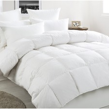 White Duck Down & Feather Winter Quilt