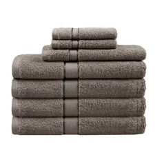Latte 7 Piece Egyptian Cotton Towel Set