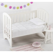 Dreamaker Down Alternative Cot Size Mattress Topper - Boori Size