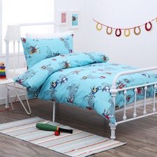 Dreamaker Kid's Poly & Cotton Printed Quilt Cover Set