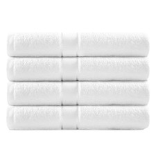 White 4 Pack Egyptian Cotton Bath Towel