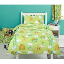 Sunshine Printed Quilt Cover Set