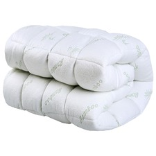 Bamboo Covered Ball Fibre Mattress Topper