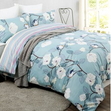 Birdie Printed Egyptian Cotton Quilt Cover Set