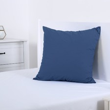 Insignia Blue Plain Dyed European Pillowcase