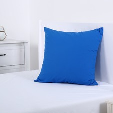 Deep Blue Plain Dyed European Pillowcase