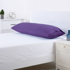 Plum Plain Dyed Body Pillowcase