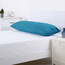 Teal Plain Dyed Body Pillowcase