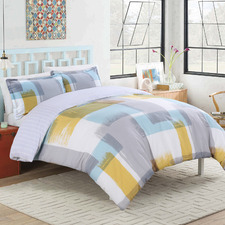 Arctic Reversible Cotton Sateen Quilt Cover Set
