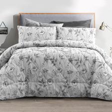 Platinum Love OF Butterfly Comforter Set