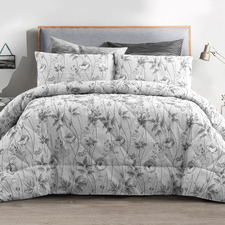 Platinum Love Of Butterfly Comforter Set