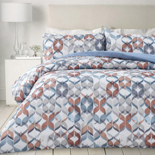 Multi-Coloured Felix Microfibre Quilt Cover Set