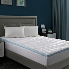 Cool Breathe Memory Fibre Mattress Topper