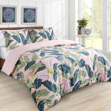 Sierra Cotton Sateen Quilt Cover Set