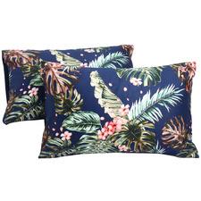 Molly Cotton Sateen Standard Pillowcase Set (Set of 2)