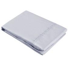Plain Dyed Cotton Sateen Pillowcase Set (Set of 2)