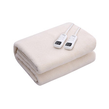 Fleece-Top Multizone Electric Blanket