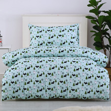 Scottie Dogs Printed Quilt Cover Set
