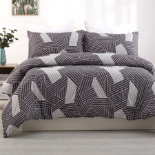 Cella Printed Queen Quilt Cover Set