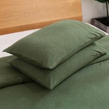 Eden Cotton Jersey Standard Pillowcases (Set of 2)