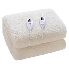 Fleece Top Electric Under Blanket