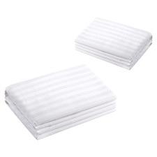 Annie Premium Cotton Euro Pillow Protectors (Set of 2)