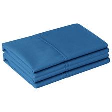 Teal Cotton King Pillowcases (Set of 2)