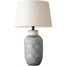 Wide Adeline Porcelain Table Lamp
