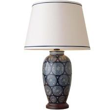 Wide Emmett Porcelain Table Lamp