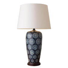 Tall Emmett Porcelain Table Lamp