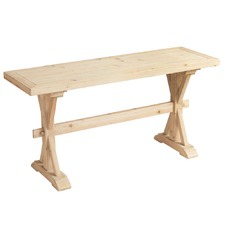 Fir Wood Console Table