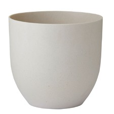 Cream Zoe Stone Planter (Set of 2)