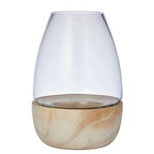 Hazel Hurricane Vases (Set of 2)