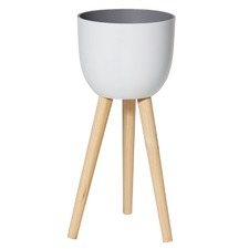 Tall White Dylan Planters (Set of 2)