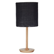 Albany Rattan Table Lamps (Set of 2)