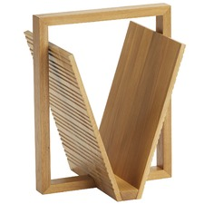 Hemsley Oak Magazine Holder
