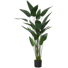 120cm Potted Faux Sky Bird Plant